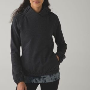 Lululemon After All French Terry Pullover Grey